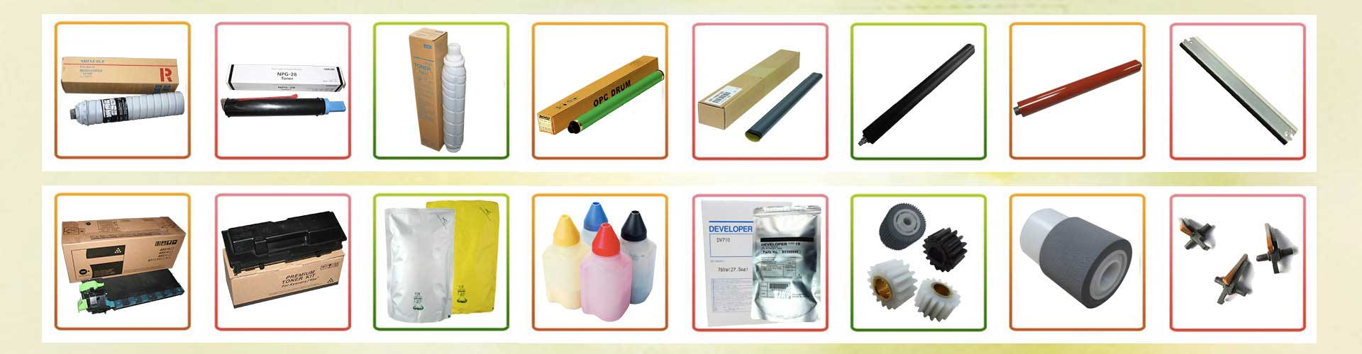 toner cartridge, spare part